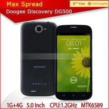doogee dg500 mtk6582 1.2ghz quad core 1gb ram 4gb rom 5.0 inch QHD chinese mobile phone