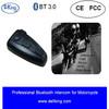 waterproof bt interphone bluetooth motorcycle helmet intercom with fm radio