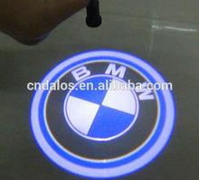 led car logo door light,led ghost shadow car logo light,led car door logo laser projector light