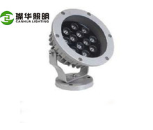 Cree hot selling energy saving modern ip65 led outdoor flood light 12W dmx512 control/rf/changing color led rgb floodlight