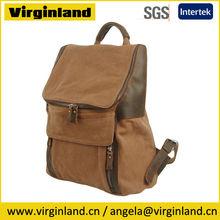 Brands Popular Custom Genuine Leather Canvas Cute School Backpack for teens, Teenager, Teenage