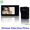 7 inch wireless color video doorbell phone intercom indoor monitors