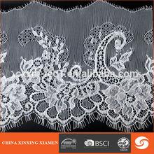 high quality Jacquard Elastic Lace Fabric