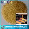 Industrial halal gelatin powder for metal metallurgical 100 bloom