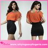 2014 New design lady Cut-out Mini Dress