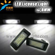 Canbus High power 24 SMD for BMW E39 E46 LED License Plate Lamp E60 E82 E84 LED License Light E90 E91 E92 E93 led license plate