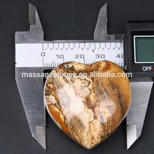 صور جاسبر الأحجار 1.5 بوصة قلب الحجر