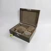 top grade glossy grained wood jewelry organizer box