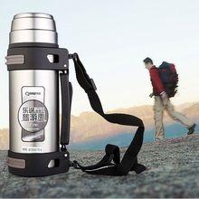 vacuum travel mug 1200ml 400ml double wall mug customized logo