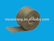 "2"" Titanium Pipe Insulation Wrap Heat Exhaust Wrap"
