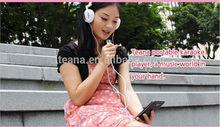 mini colorful mini pc karaoke player for practice singing I9