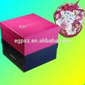 de china profesional de personalizar de cartón de zapatos en forma de cajas de regalo