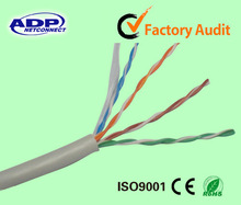2014 Shenzhen ADP high quality and competitive cat5e utp lan cable