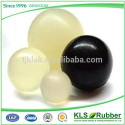 custom transparent rubber ball