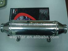 barrel heat exchanger intercooler for performance car intercooler
