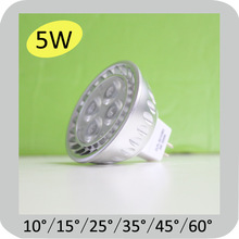 2014 high power 450lm mr16 dimmable led mr16 5w SMD type