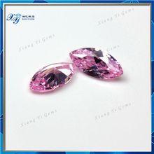 China wholesale 3x6mm pink marquise shape cz cubic zirconia signity cz gems / cz gemstone