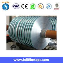 Bondable Laminated Foil Heat Sealed Aluminum Polyester Tape ALU/PET/EAA