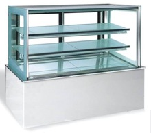 Double Marble Cake Showcase Commercial Display Cake Refrigerator
