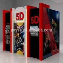 amusement equipment manufacturer 5D cinema equipment including the outside cabin/box