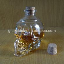 2014 hot sale glass bottle 250ml for beverage bottles wholesale