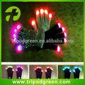 führte handschuhe fabrik multicolor magic finger leuchten führte handschuhe