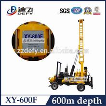 Max. 600 m núcleo plataforma de perforación para mineral de exploración -- XY-600F