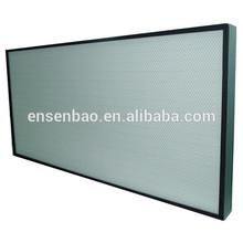 Mini Hepa 99.99% High Efficient Air Filter / Pleat Hot Melt Air Filter 0.3 microns