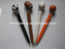 Wooden ball Cartoon Artistic Pen