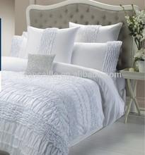 100% cotton sheet sets, duvet sheet set, ruffle bed