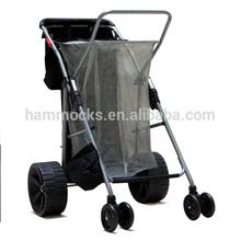 Folding Beach Trolley Cart, Beach Cart with wheels