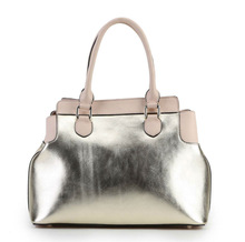 Guangzhou ladies bag manufacturer 2014 high-end fashional desigual design ladies leather hand bags