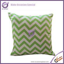 18878 apple green lamour satin latest design Colourful strips cheap car seat/cushion covers print