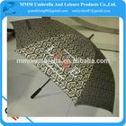UK customize golden lion full printed golf umbrella