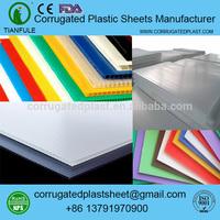 2mm 3mm 4mm 5mm polypropylene pp plastic fluted corflute board