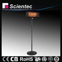 Scientec Electric Infrared Decorative Quartz Outdoor Heating