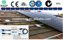 DC22-55v for solar panel used gird tied micro inverter 250w