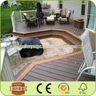 waterproof outdoor deck flooring cheap composite decking material
