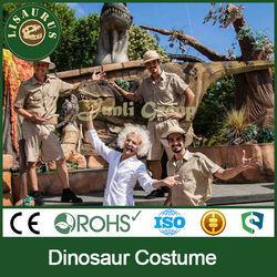 Lisaurus-LA dinosaur costume children's attractions