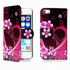 New Arrival Cell Phone Wallet Leather Card Holder Flip Case Folio Cover Pouch For iPhone 5 5C 5S