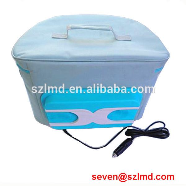 2014 new fashion 12v car refrigerator compressor cool box refrigerator