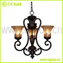 adjustable vintage black wrought iron ceiling light