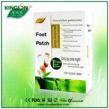 Good Quality Detox Bamboo Foot Patches jun gong detox foot patch
