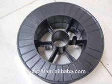 Plastic spool for welding wire