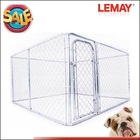 Hot sale 10x10x6ft high quality galvanized outdoor dog run cage