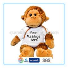 CE/ASTM standard custom best made toys plush monkey names