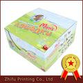 Cajas de papel de la muñeca de cartón caballo de la caja de color de visualización juguetes niño