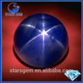 brillante cabujón de zafiro estrella para el anillo