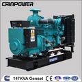 147 kva generador diesel cummins conjunto john deere generador diesel con alternador de stamford uci274e 60hz 1800 rpm