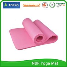 Folding printed eco friendly custom label manufacturer yoga mat